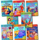 My Bible Sticker Activity 8 books set collection with over 800 stickers